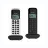 Telefone Alcatel D285 Duo Preto + Branco