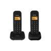 Telefone Alcatel E155 Duo Preto
